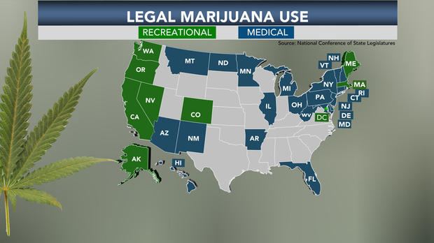 Qualifying Conditions for a Medical Marijuana Card byState