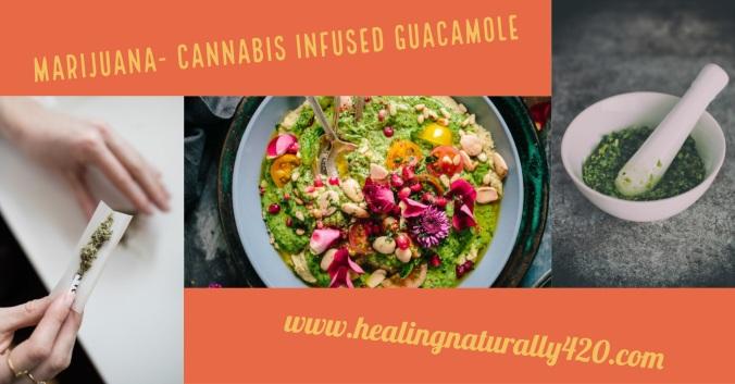 Cannabis Infused Guacamole