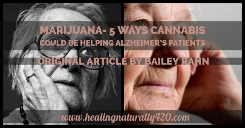 5 Ways Cannabis Could Be Helping Alzheimer's Patients