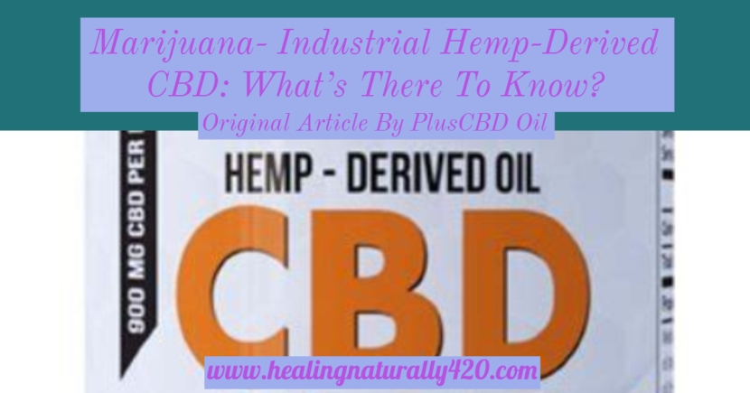 Industrial Hemp-Derived CBD: What's There to Know?