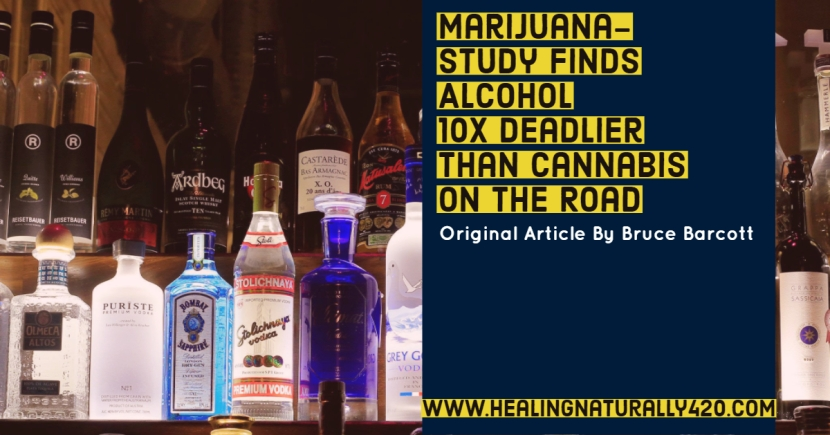 Study Finds Alcohol 10 Times Deadlier Than Cannabis on the Road